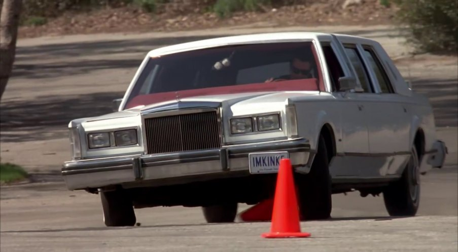 """""""You hit two cones back there. Those could have been people..."""" """"They were cones!"""""""